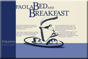 PAOLA Bed & Breakfast